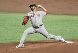 Verdugo, Chavis homer to back Pérez as Red Sox beat Rays 5-0