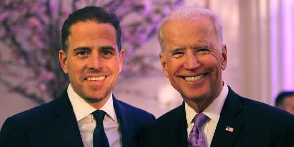 Trump and Rudy Giuliani are reviving allegations of a conspiracy involving Joe Biden and his son in response to a whistleblower report