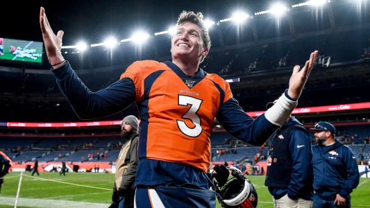 Broncos' Courtland Sutton gives Drew Lock a vote of confidence: QB is 'on a different level'