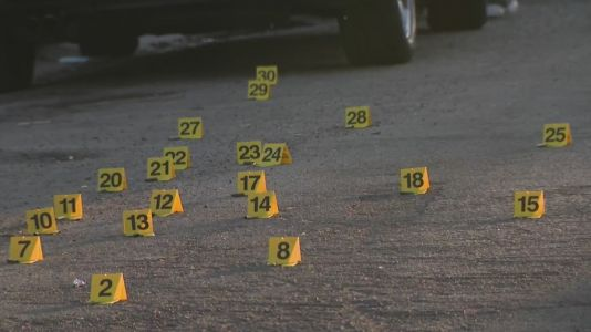 As many as 30 shell casings found after boy, 8, shot on Chicago's West Side