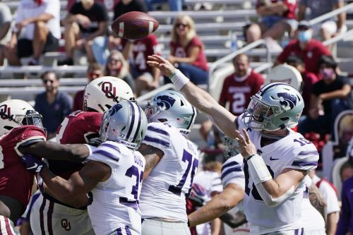 Kansas State rallies to stun No. 3 Oklahoma - again
