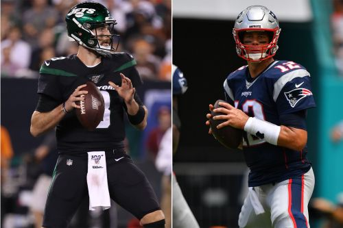 Jets-Patriots line shrinks as pro bettors 'jumped on' Gang Green
