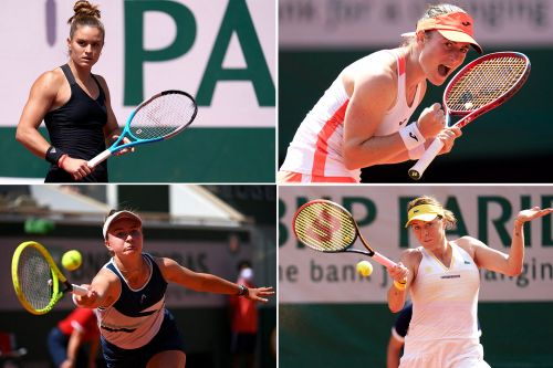 Meet the four first-time grand slam semifinalists in bonkers French Open
