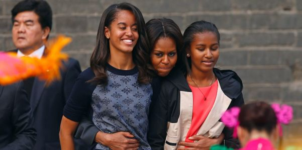 Michelle Obama says many Black people 'live in fear' and admits to worrying about her daughters 'every time they get in a car by themselves'