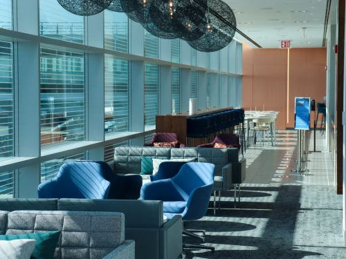 The new Centurion Lounge at JFK airport blows every airline lounge I've been to during the pandemic out of the water - here are its 9 coolest features