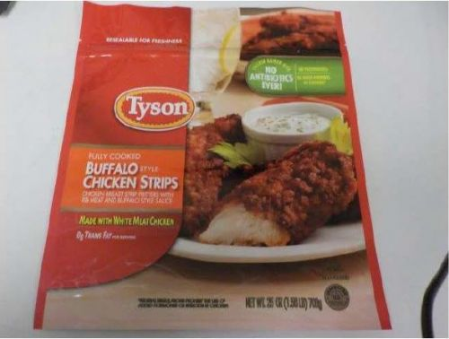 Tyson Recalls More Than 34 Tons of Contaminated Frozen Chicken Strips