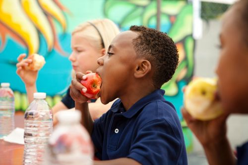 Americans are eating lots of unhealthy food - except at school, study finds