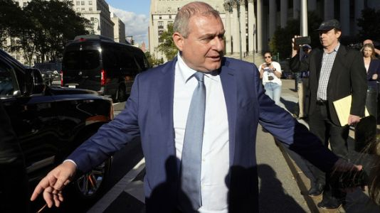 Former Giuliani associate Lev Parnas is convicted of campaign finance crimes