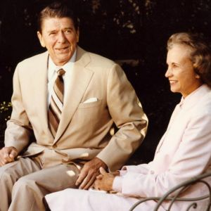 1981: Reagan appoints the first female Supreme Court justice