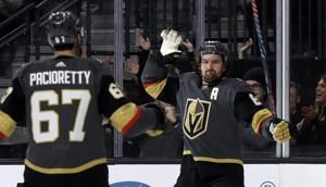 Vegas stops Tampa Bay's 11-game streak with 5-3 win
