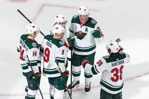Spurgeon scores 2, Stalock gets shutout as Wild top Canucks