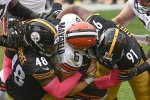 Ben Roethlisberger, Steelers Rout Browns; Baker Mayfield Benched in Loss