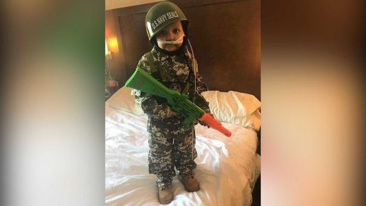 Parents issue call for military personnel to attend funeral of 5-year-old 'Army man'