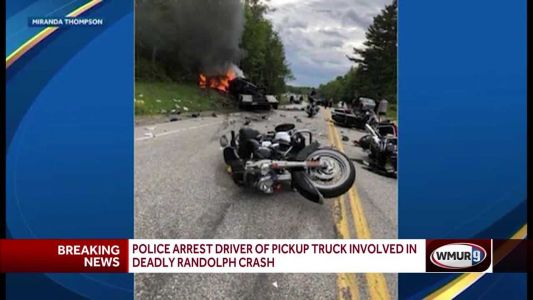 Police arrest driver of pickup truck involved in Randolph crash