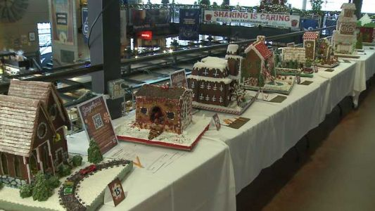 Gingerbread house competition under way at Milwaukee Public Market