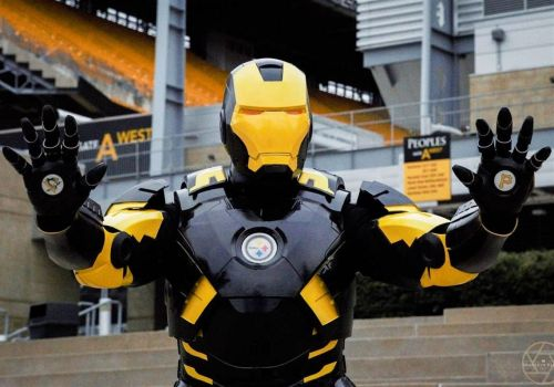 Her Iron Man suit marks the ultimate Pittsburgh/Marvel crossover