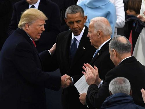 President-elect Biden: President Trump's inaugural presence important to US