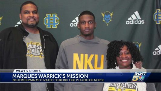 Freshman motivated to be big-time player for NKU Norse