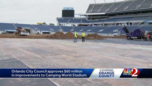 Orlando City Council approves $60 million for improvements to Camping World Stadium