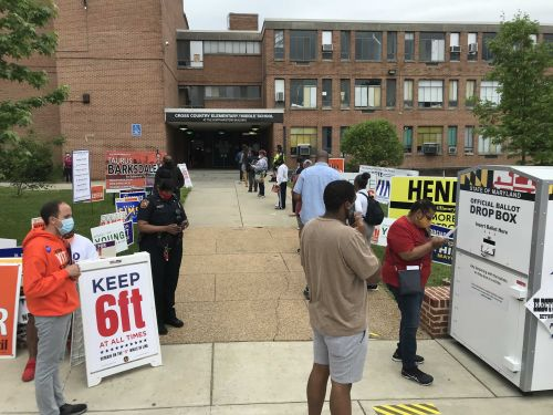 Voters cope with unique primary day election due to coronavirus