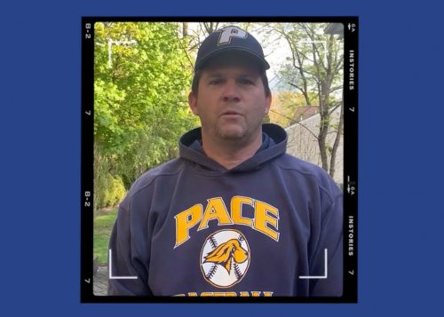 Pace University coach accidentally smashes player's face with bat after loss