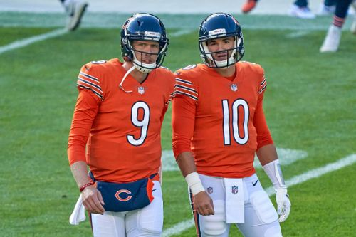 Bears are in 'wait-and-see' mode when it comes to Foles & Trubisky