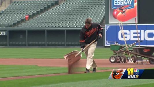 O's ground-breaking groundskeeper trailblazing path for women