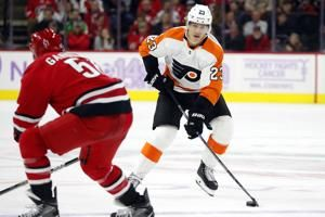 Flyers' Lindblom completes treatment for rare bone cancer