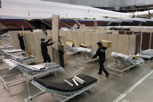 California spent millions on Sacramento arena hospital that saw 9 patients