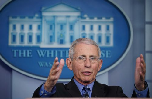 Anthony Fauci Is an avid runner, even when he works 19-hour days