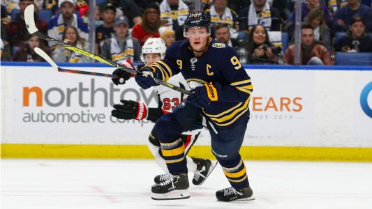 Buffalo Sabres star Jack Eichel scores four goals, reminds hockey world how good he is