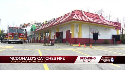 McDonald's fryer ignites fire in Donegal
