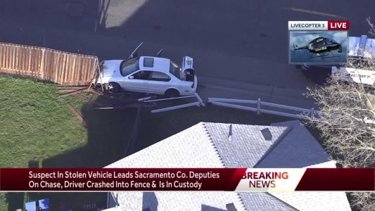 2 in custody after chase in Sacramento County, officials say
