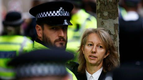 Extinction Rebellion co-founder arrested by British police for conspiracy to cause criminal damage and fraud after bank attacks