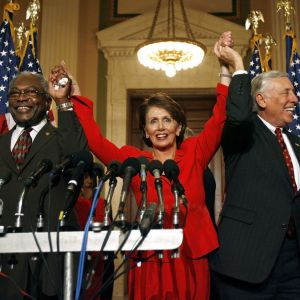 2007: Pelosi becomes speaker of the house
