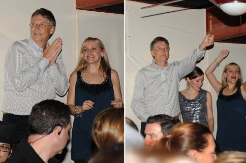 Bill Gates once partied with hot women at Sundance