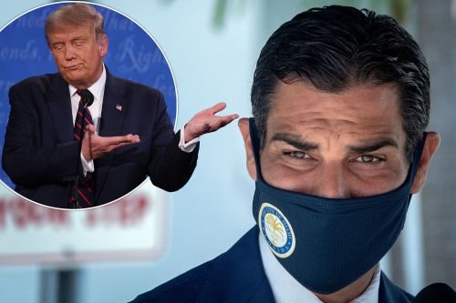Miami Mayor To Trump: Don't Come For Debate Unless You're Covid-Free