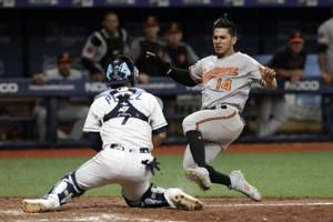 Rickard's RBI double in 11th lifts Rays past Orioles 6-5