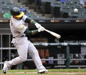 Barreto's two 3-run HRs, A's top Chisox 11-2, 5th win in row