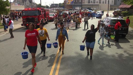 The annual Black Family Reunion Parade makes its way through Avondale
