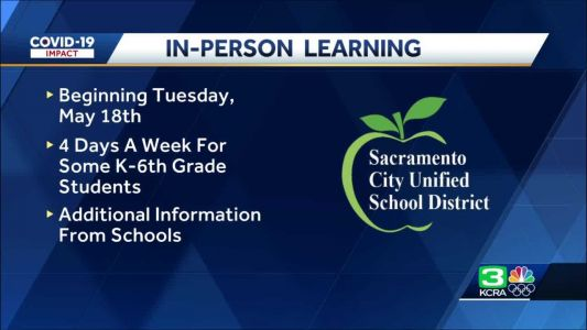 Why Sacramento city schools are only expanding in-person learning to 4 days for some students