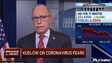 Larry Kudlow Claims Coronavirus 'Contained' In U.S. As CDC Warns Of Likely Spread