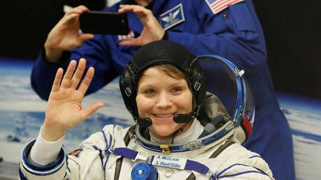 NASA astronaut accused of hacking ex-spouse's bank account from space