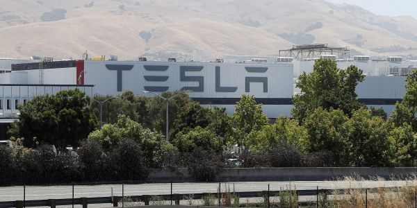 Tesla slips as report says the EV maker will idle Model 3 line at its Freemont factory for two weeks