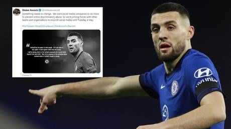 Chelsea star Kovacic causes confusion after setting up Twitter account. in order to boycott Twitter