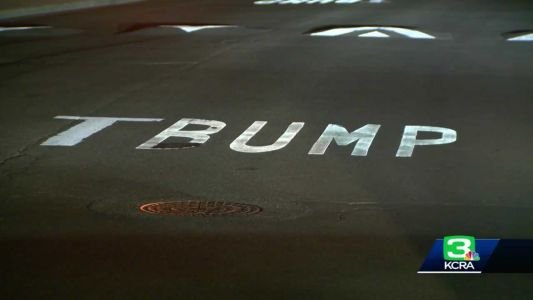 From Bump to Trump: Speed bump warnings graffitied in Stockton