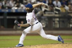 Mets reliever Gsellman has partially torn lat muscle