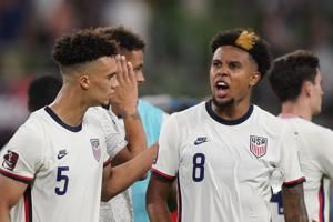 McKennie, back from banishment, refuses to meet with media