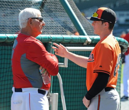 Mike Yastrzemski to make Fenway Park debut amidst breakout season
