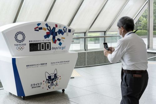 With only 100 days left until the Tokyo Olympics, less than 1% of Japan's population is vaccinated